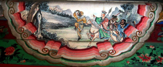 Painting of Monkey King Journey to the West