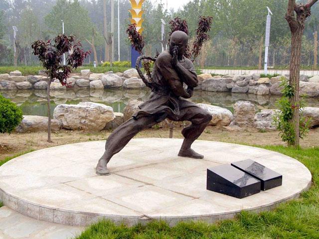 Dong Haichuan Statue