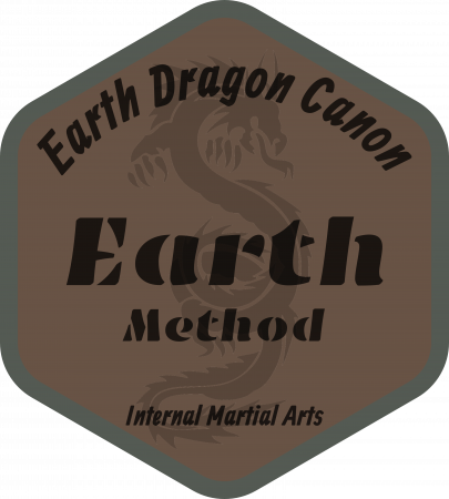 Earth Emblem of the Earth Dragon Canon Method for Internal Martial Art Practice.