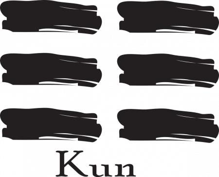 Kun is the Ground or Earth trigram