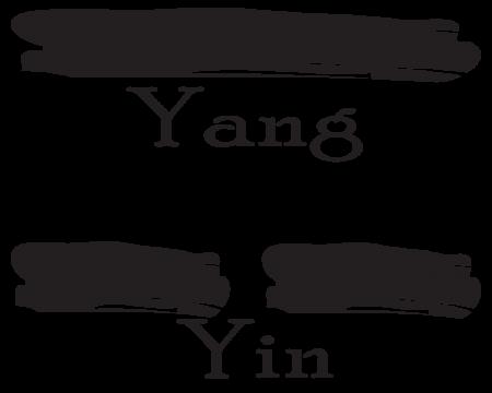 Liang Yi. The division of Yin and Yang.