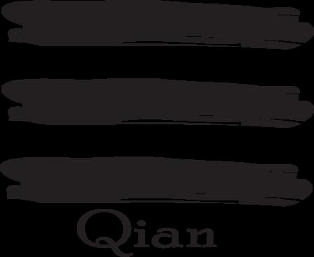 Qian is the Heaven trigram