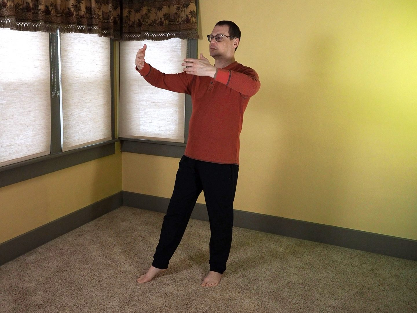 The right facing Universal Post Posture.